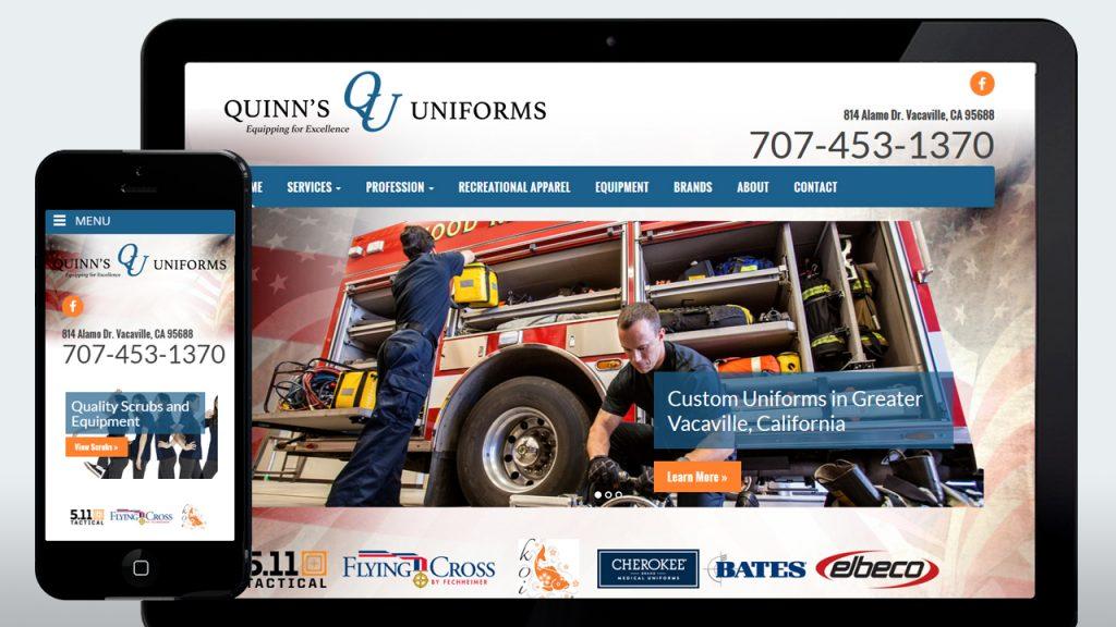 Quinn's Uniforms